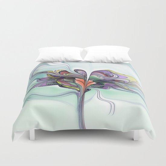 Butterfly Tree Duvet Cover