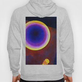 Wassily Kandinsky Circle with Brown Hoody
