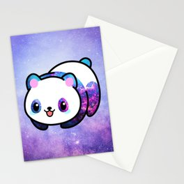 Kawaii Galactic Mighty Panda Stationery Cards