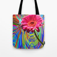 perfume Tote Bags featuring PERFUME by SPACEZING