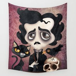 Edgar Poet Wall Tapestry