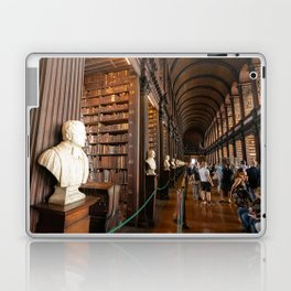 The Long Room of Trinity College Library in Dublin, Ireland Laptop & iPad Skin