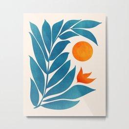 Garden Sunset II Metal Print