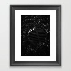 Storm Drain (Journey to School Series, 2003) Framed Art Print