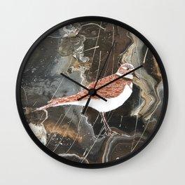 Killdeer bird Wall Clock