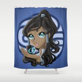 Avatar Korra: Kishimoto Style Shower Curtain