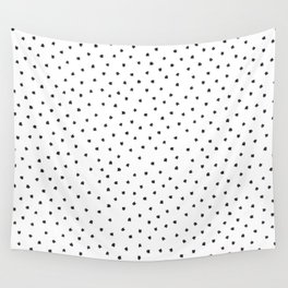Black Cats Polka Dot Wall Tapestry