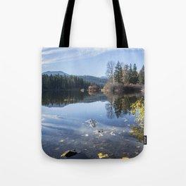 Beautiful Fall Day at Fish Lake Tote Bag
