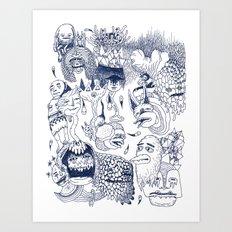 Dragon's Breath Art Print