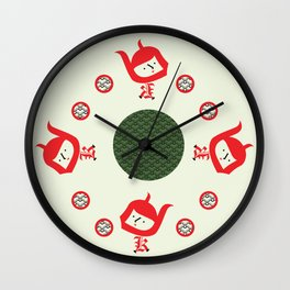 Diabla Errante Wall Clock