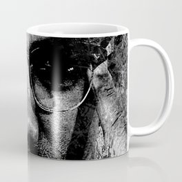 MALCOLM X (BLACK & WHITE VERSION) Coffee Mug