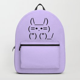 Text Kitty Backpack