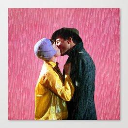 Singin' in the Rain - Pink Canvas Print