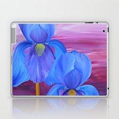 Blue Iris Laptop & iPad Skin