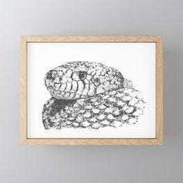 Cold-hearted Snake Framed Mini Art Print