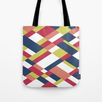 matisse Tote Bags featuring Map Matisse by Project M