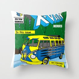 VWolverine Throw Pillow