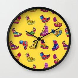 Kicks Wall Clock