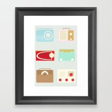 Radios Framed Art Print