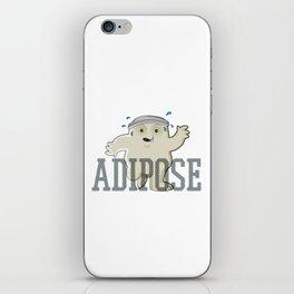 Working Off My Adipose iPhone Skin