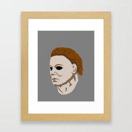 Michael Myers Framed Art Print