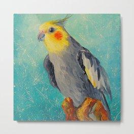 Corella parrot Metal Print
