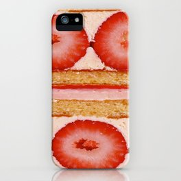 cross-section iPhone Case