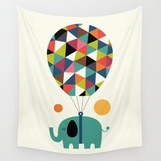 Fly High And Dream Big Wall Tapestry