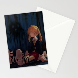 Soul Eater - what do you mean i did it Stationery Cards