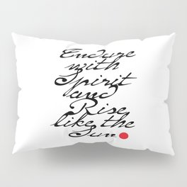 Endure with Spirit Pillow Sham