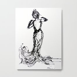 dancing alone Metal Print