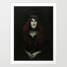 The Banished Queen Art Print