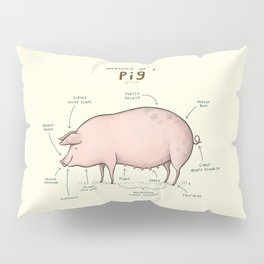 Anatomy of a Pig Pillow Sham