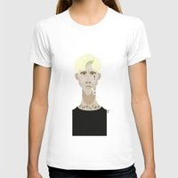 ryan gosling T-shirts featuring Ryan Gosling (The place beyond the pines) by Bady Church