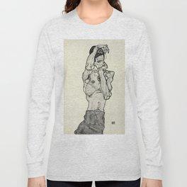 Egon Schiele  -  Zeichnungen II Long Sleeve T-shirt