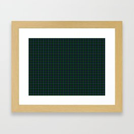 Sutherland Tartan Framed Art Print
