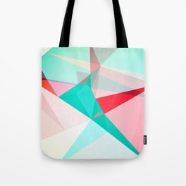 FRACTION - Abstract Graphic Iphone Case Tote Bag
