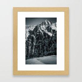 Chamonix Framed Art Print