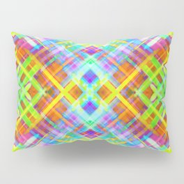 Colorful digital art splashing G71 Pillow Sham