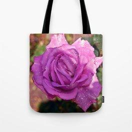 Sardinian Rose Poetry Tote Bag