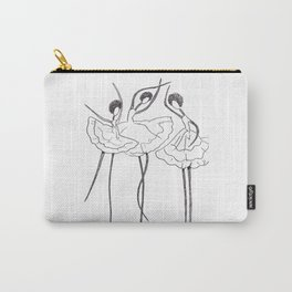 Ink and Ballet 3 Carry-All Pouch