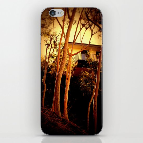 sunset mystery iPhone & iPod Skin