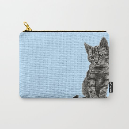 Kitty - PENCIL DRAWING Carry-All Pouch