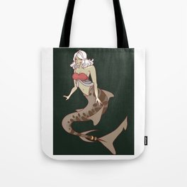Shark Babe Tote Bag
