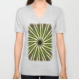 Cactus Garden Kaleidoscope 10 Unisex V-Neck