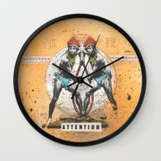 Attention Wall Clock