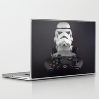 xbox Laptop & iPad Skins featuring Because XBox One by InkBlot