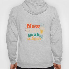 New Year Beer Funny Apparel New Years Eve Party Hoody
