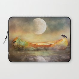 By the Light of the Crow Moon Laptop Sleeve