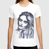 sky ferreira T-shirts featuring Sky Ferreira by Hedi Slimane by Asquared2Art